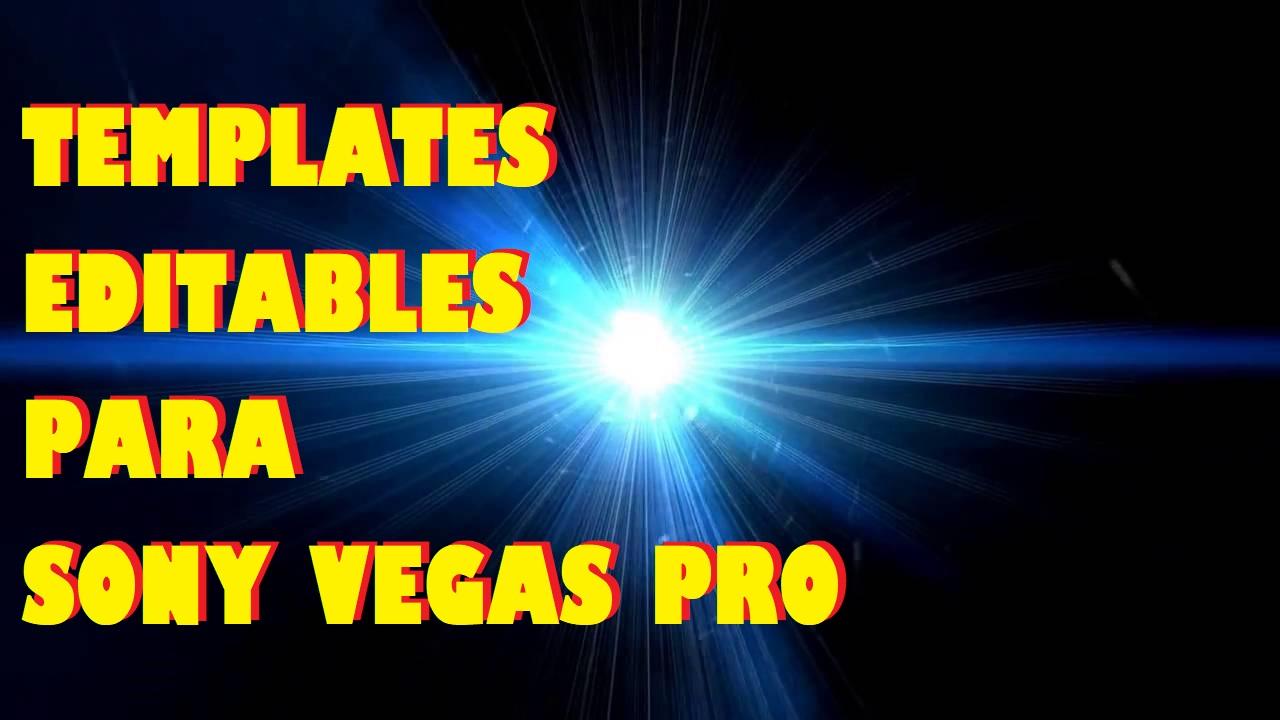 Intros Editables para Sony Vegas Pro