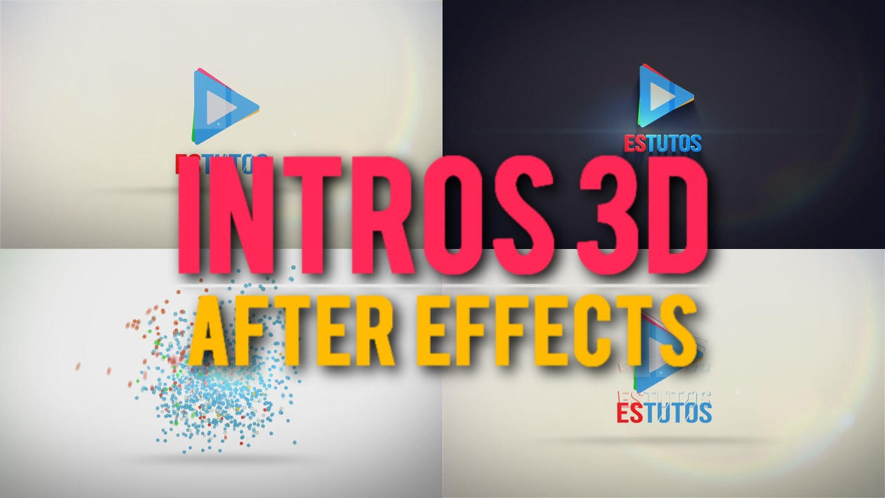 72 intro 3d for after effects tutorial easy edit and for Habitacion 3d after effects