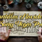 Plantillas navideñas para Sony Vegas Pro