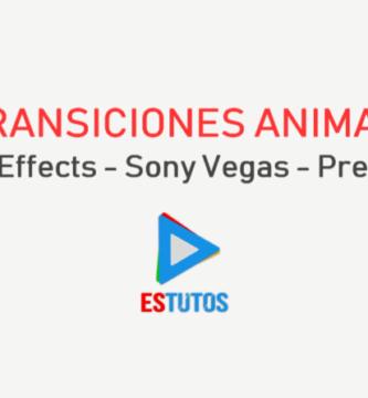 Transiciones Animadas en 4K para Vídeos