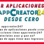 app creator 24, como crear una aplicacion para android con appcreator24 sin saber programar